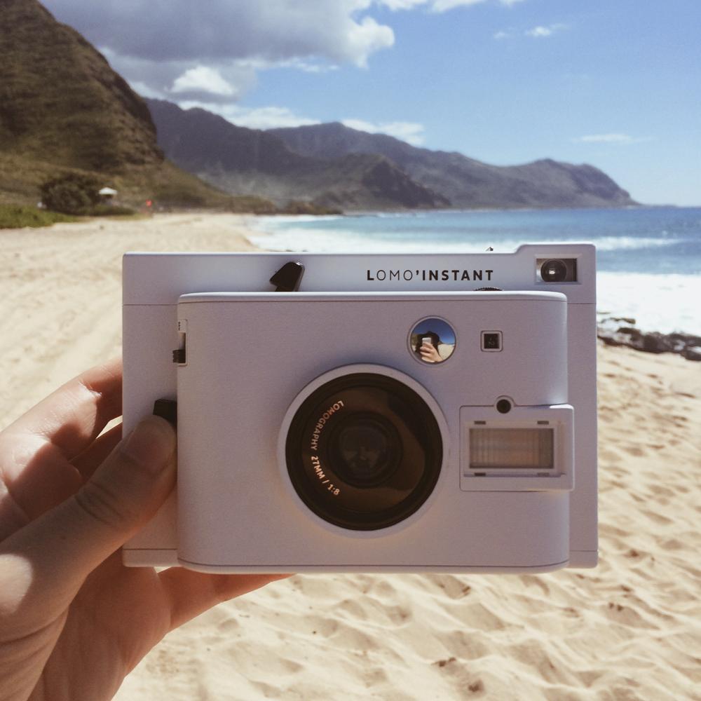 Dan's new polaroid camera!