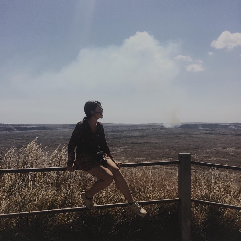 Volcanoes National Park.