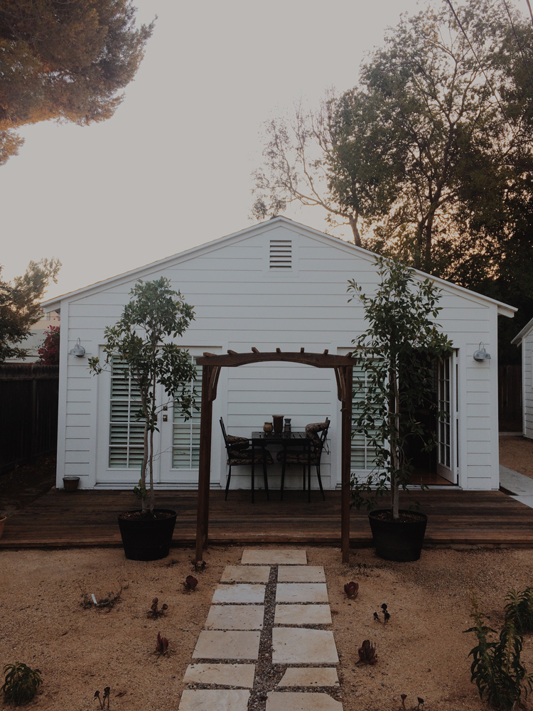 Our cute Airbnb home in Los Angeles that we absolutely loved!