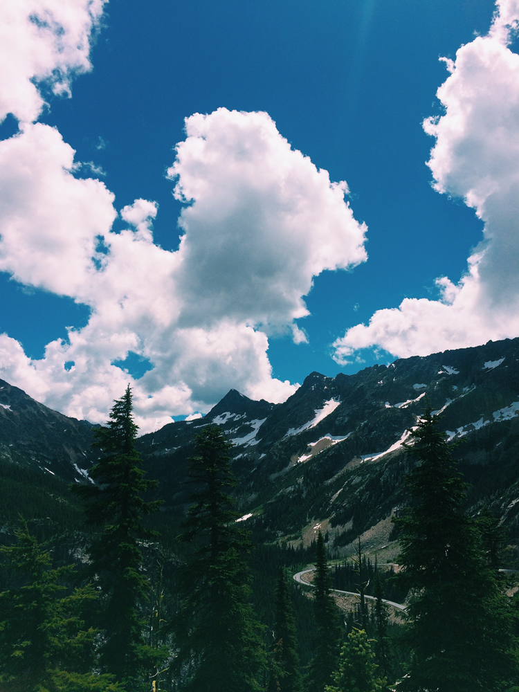 Washington Pass Overlook in North Cascades National Park.