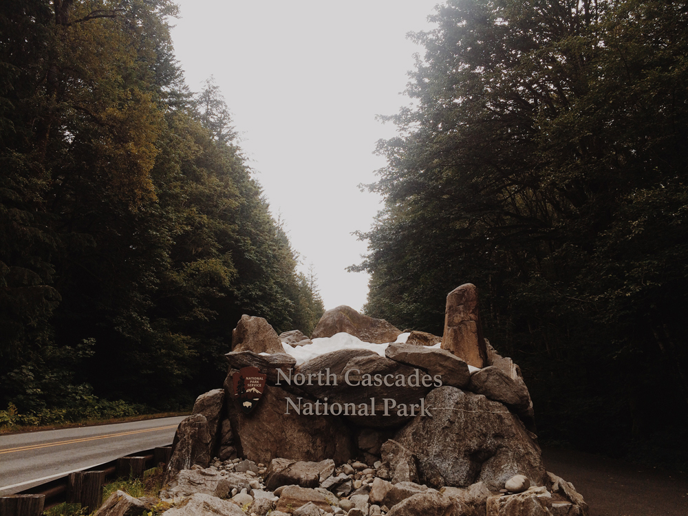 Our first stop was North Cascades National Park!