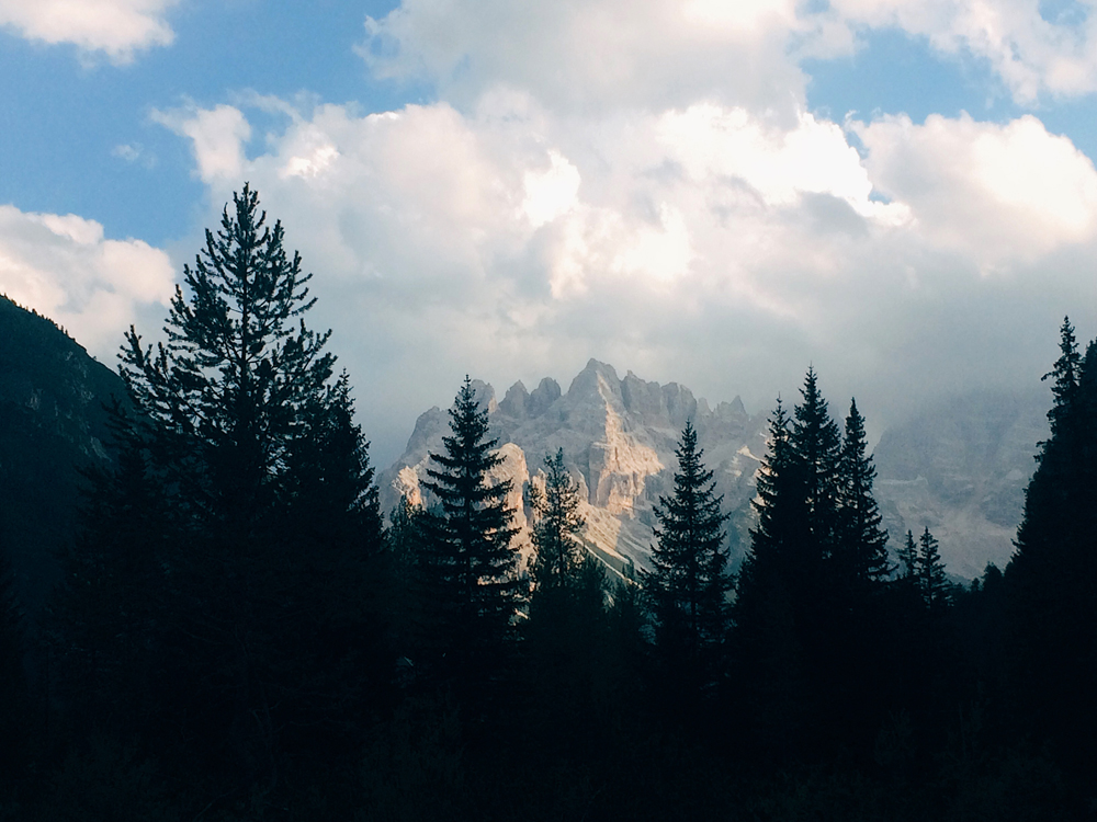 Visiting the World UNESCO Heritage site in the Dolomites.