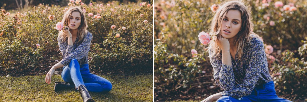 50mm // 85mm (again, there wasn't enough space in our location to capture a full body landscape shot on the 85)