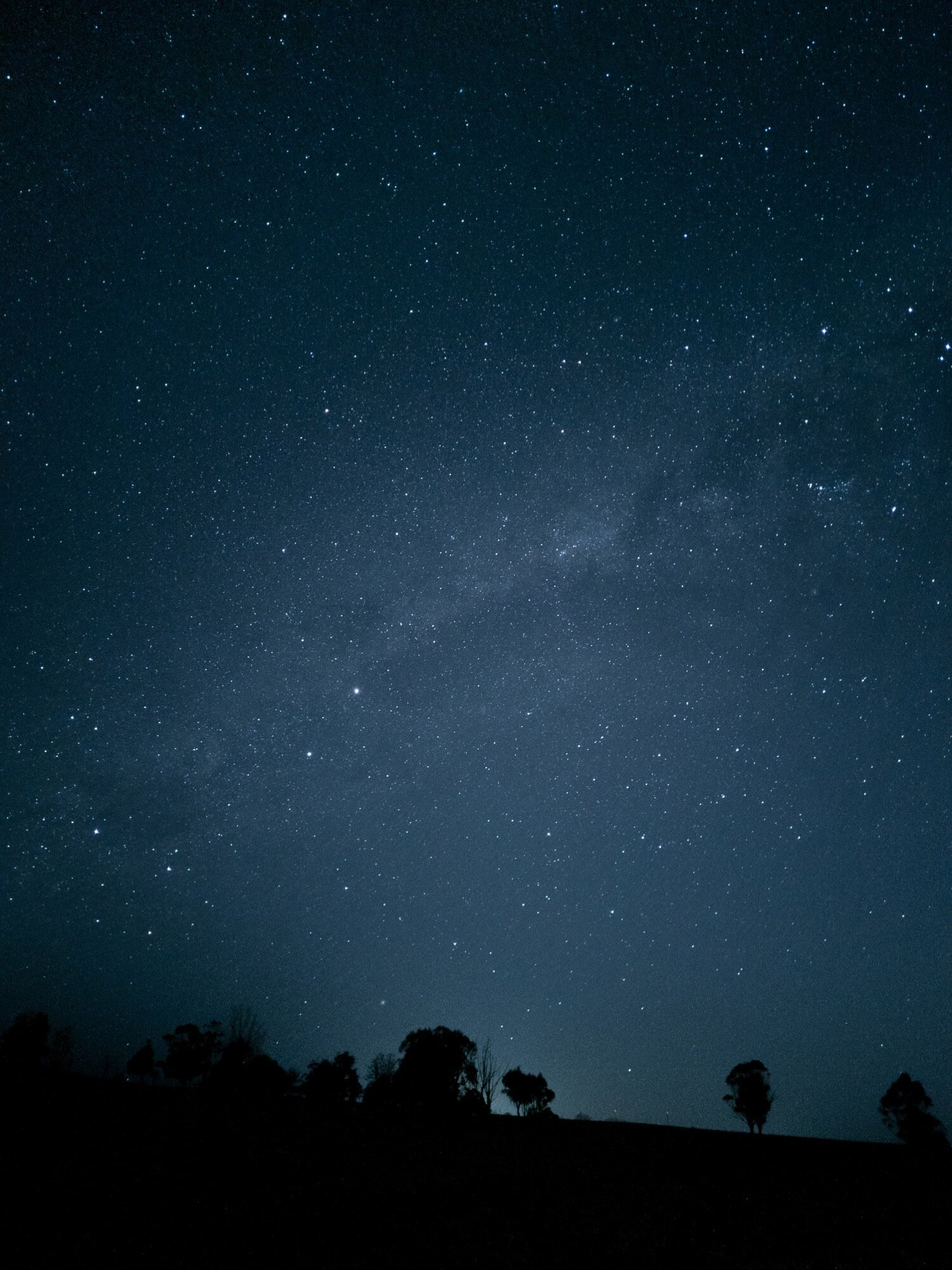 Night sight + Astrophotography Mode - 4 minute exposure DNG edited in Lightroom Mobile