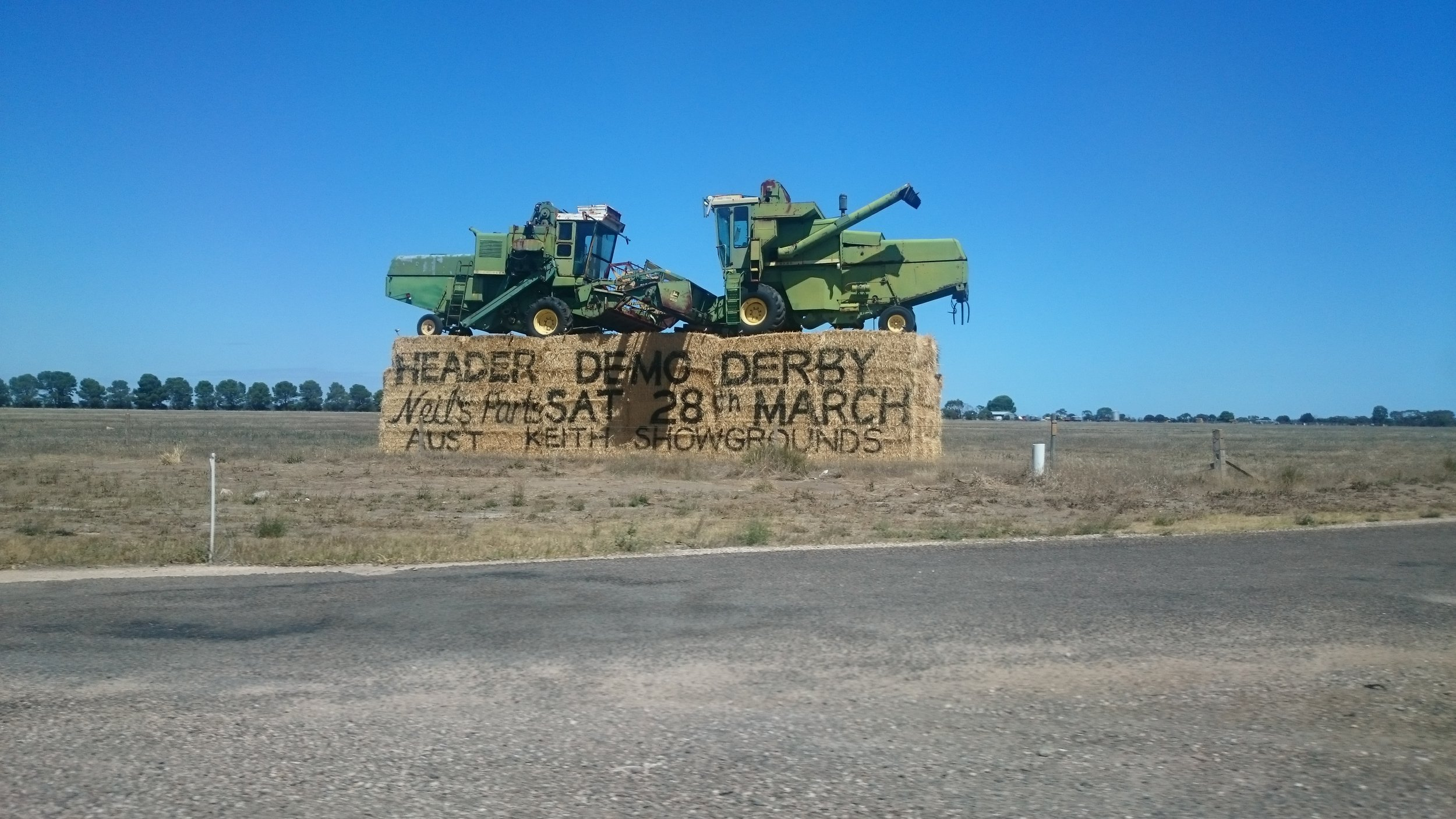 Tractor Demo Derby - Keith, South Australia