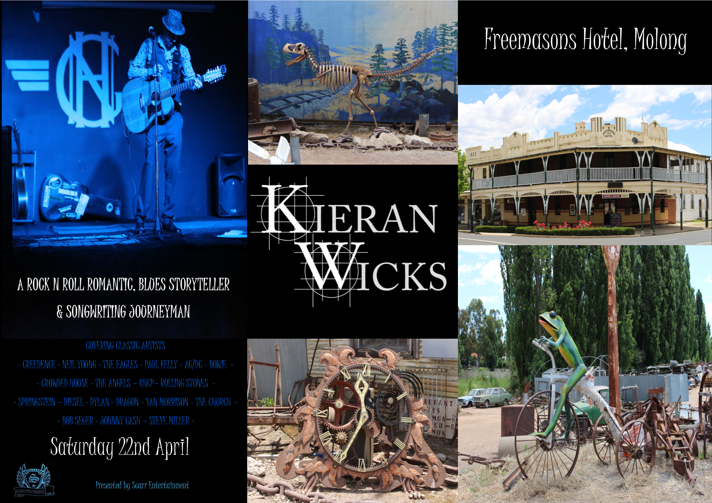 Kieran Wicks Live at Freemasons Hotel Molong