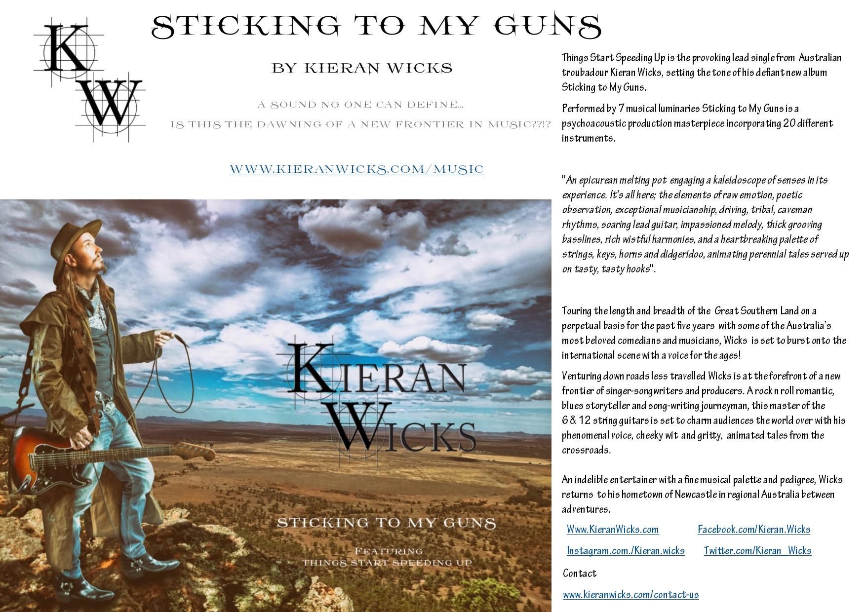 Kieran Wicks - Biography 230617