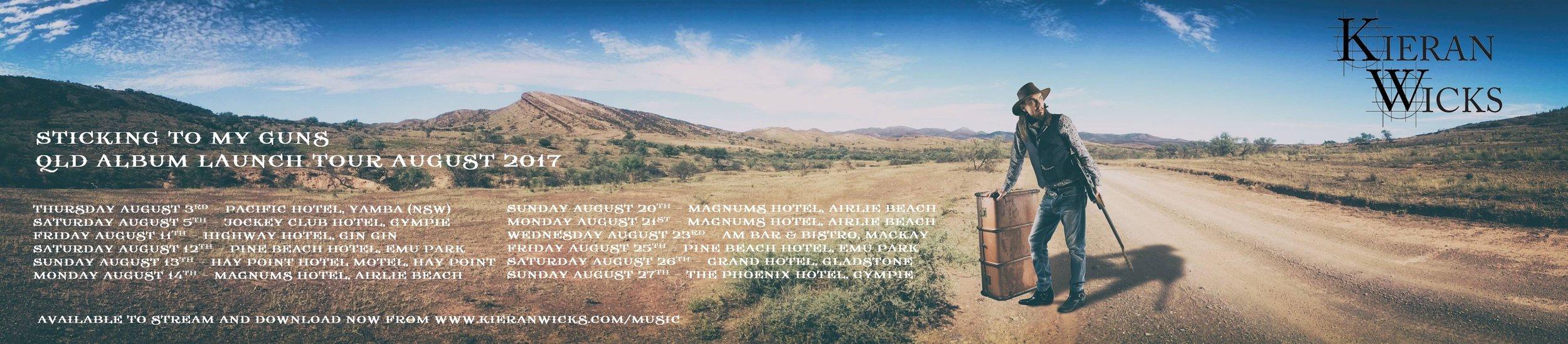 Queensland Album Launch Tour