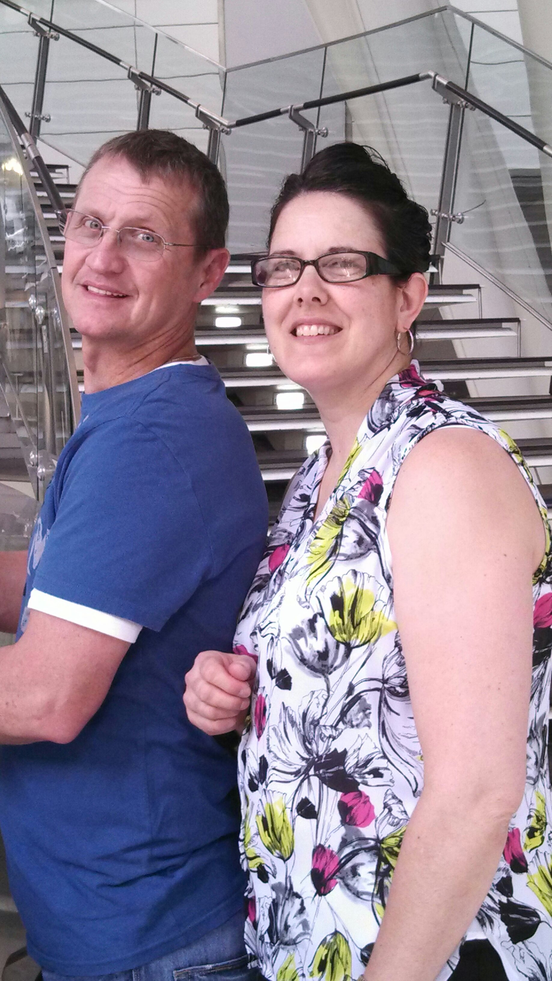 My rents at the Science museum.