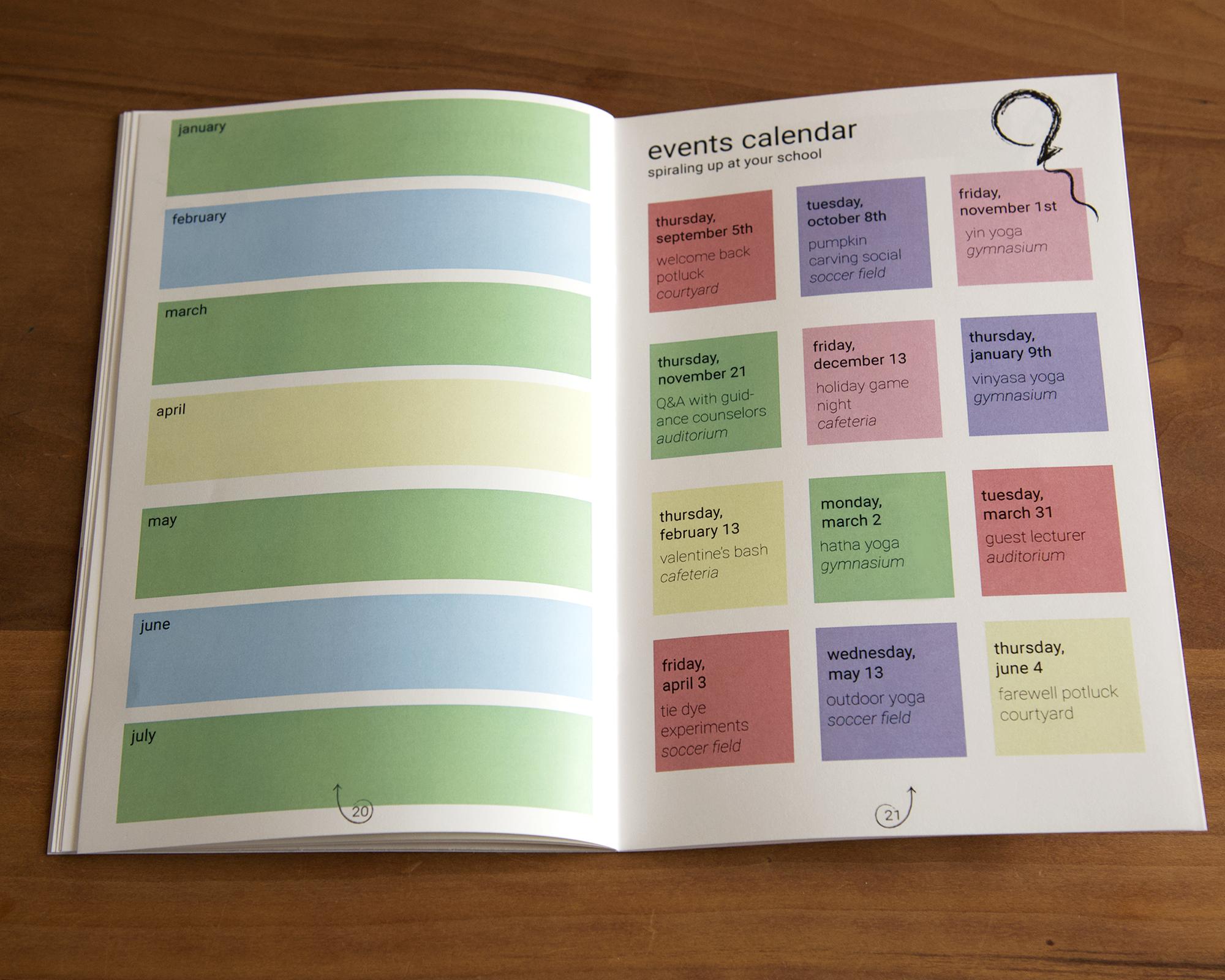 Monthly Goals & Calendar