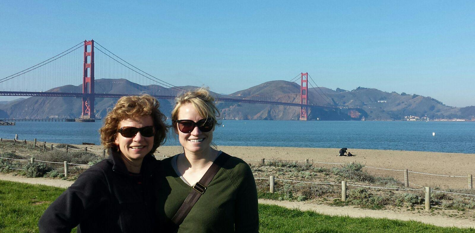 Mom & I at Crissy Field