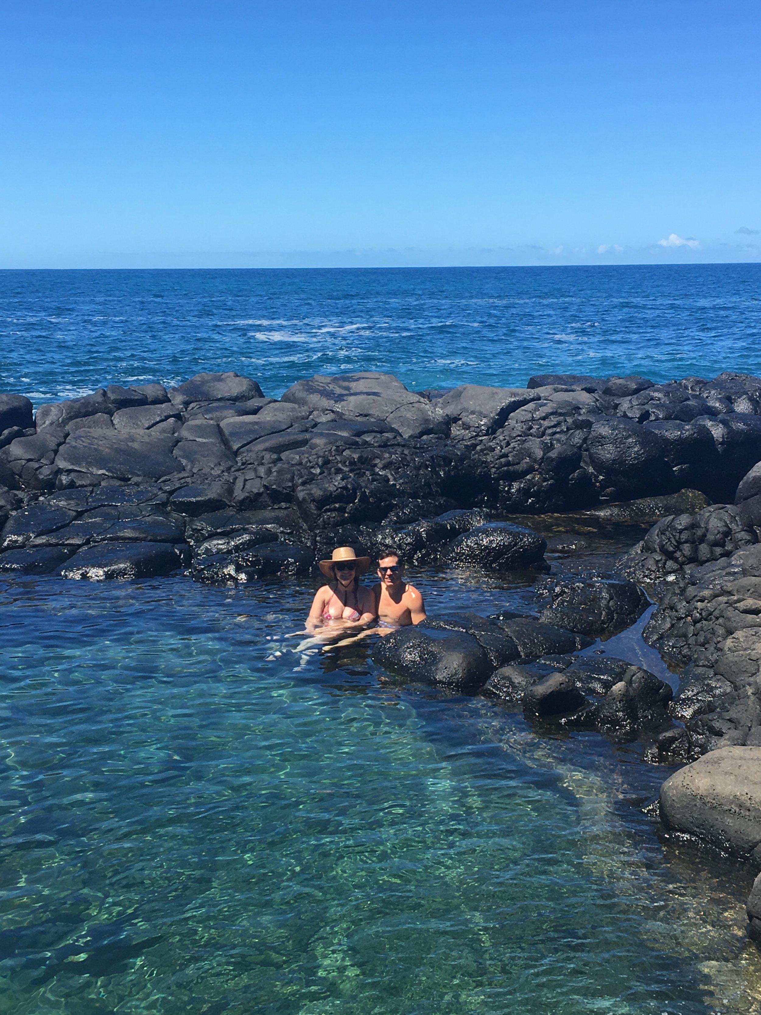 Queens Bath in Kauai