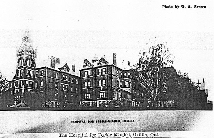 Hospital for the Feeble-Minded, Orillia. Courtesy of Archives of Ontario.
