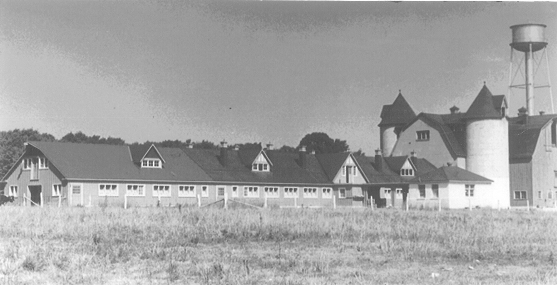 Orillia institution farm, today the site of the OPP. Photo courtesy Archives of Ontario.
