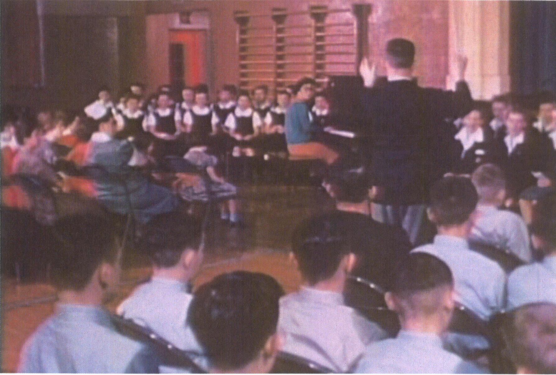 Orillia Choir, Ontario Hospital School, 1960.