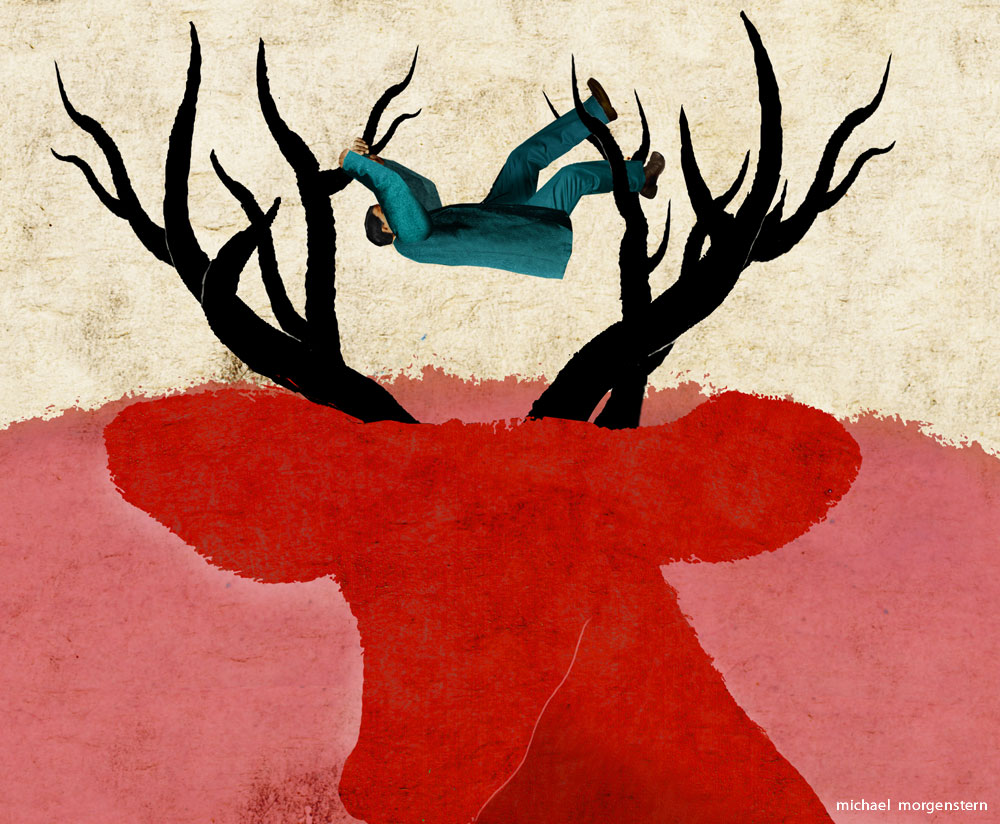 """""""On the antlers of a dilemma"""" - the Economist"""
