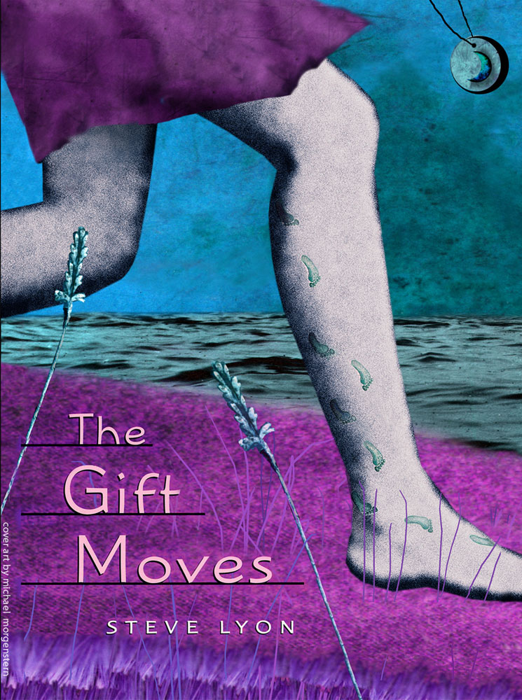 """The Gift Moves"" - cover for the novel by Steve Lyon - Houghton Mifflin"