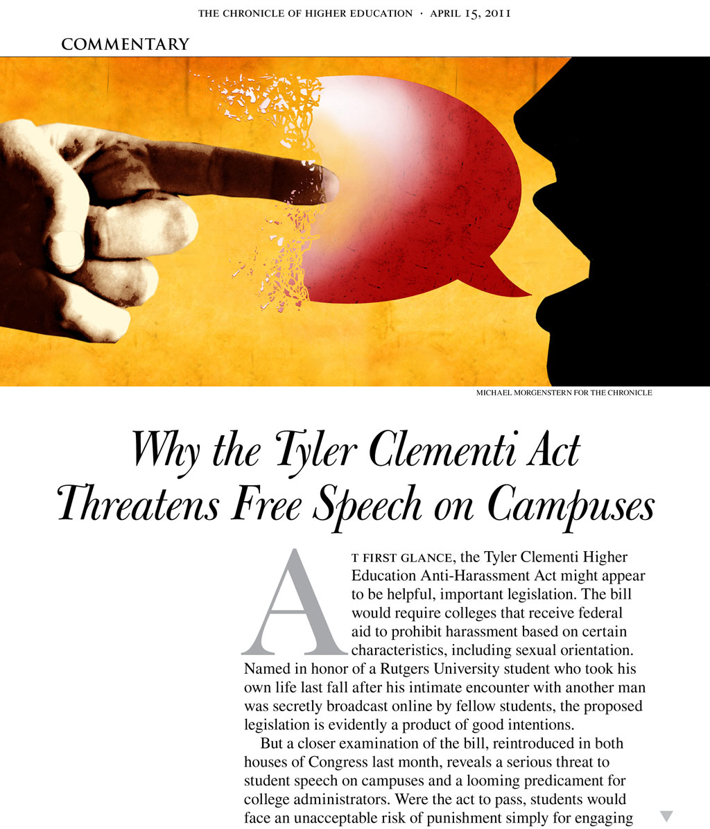 Free Speech Threatened