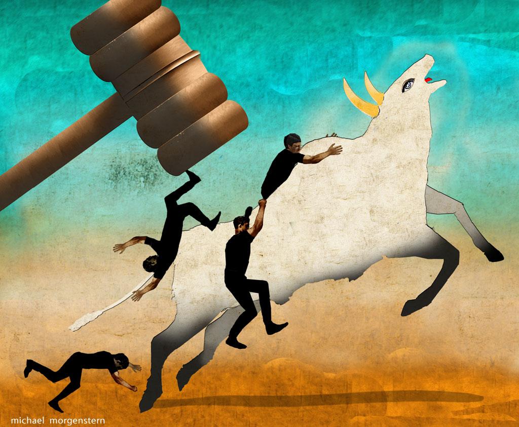 Riding sacred cows, The Economist