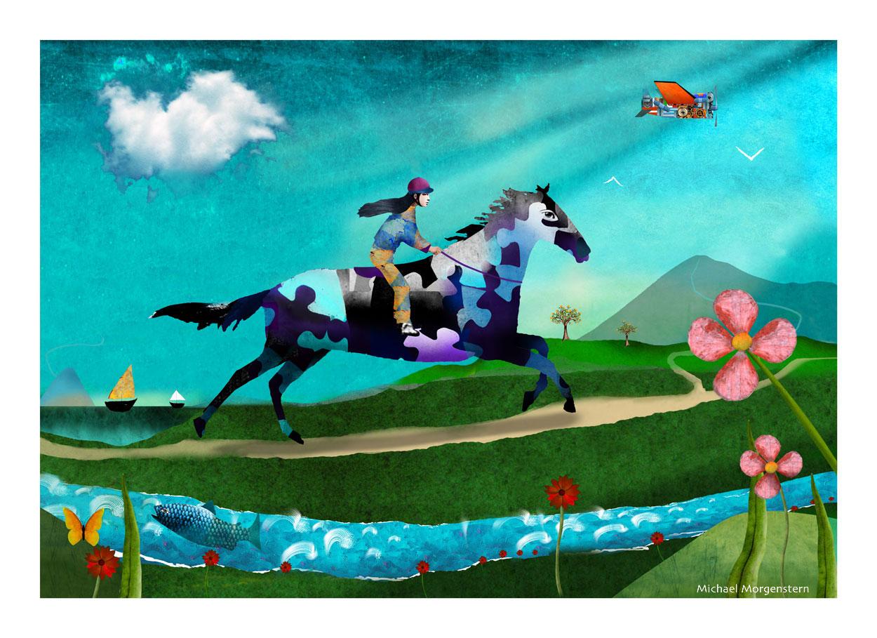 """The Horseback Rider"""