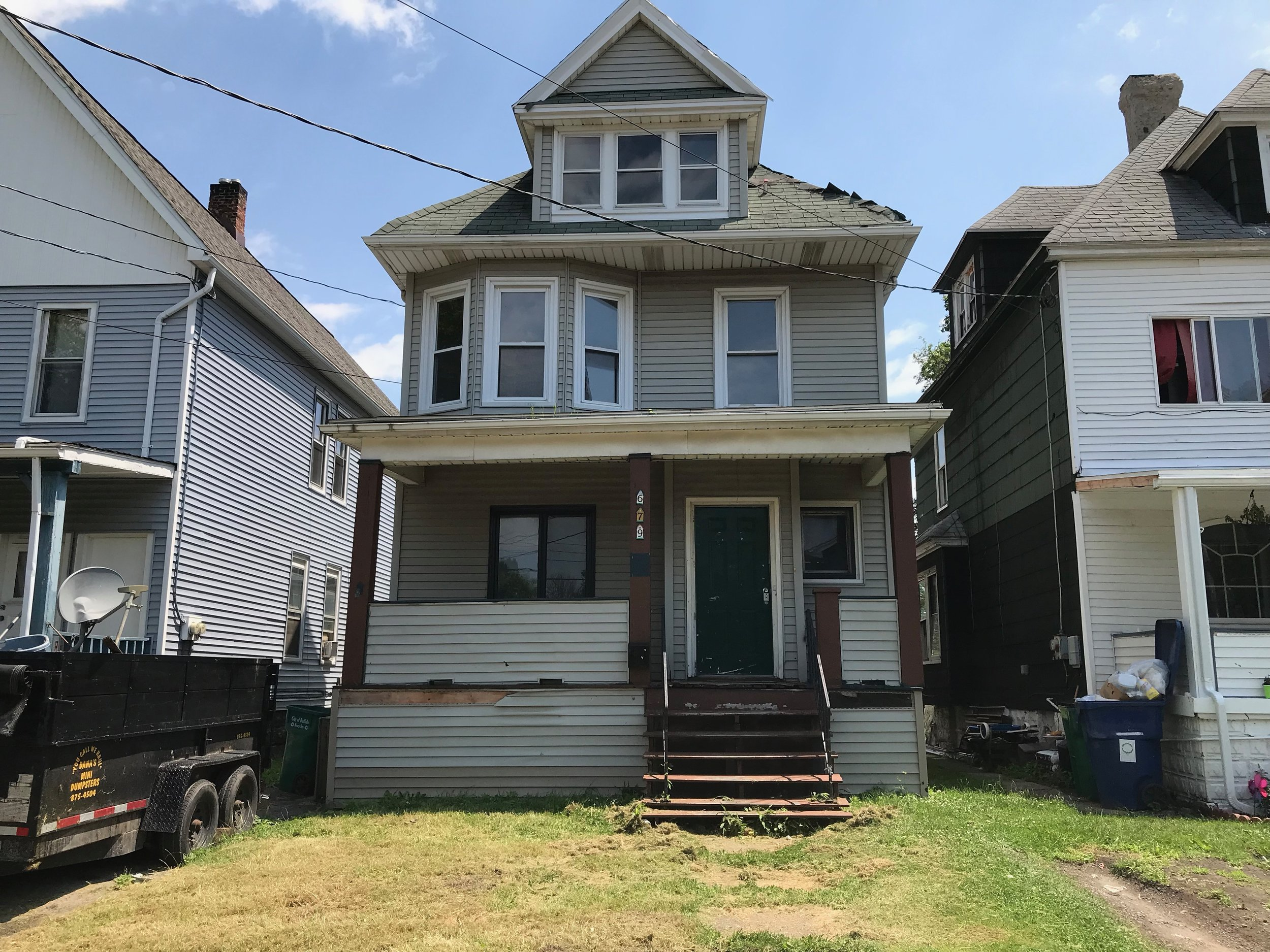 SOLD: 679 Hopkins St, Buffalo | $40,000