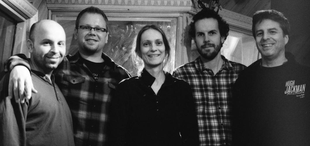 BJU members: Rob Garcia, Dan Pratt, Anne Mette Iversen, David Smith & Adam Kolker