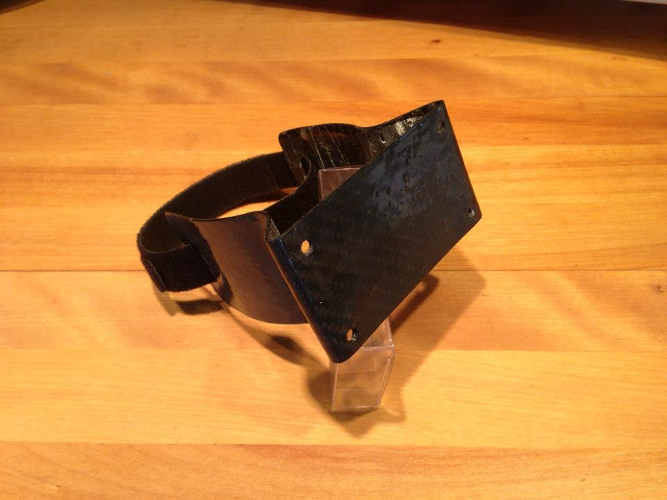 Sail22 J70 Carbon Mast Bracket for Velocitek ProStart or Tacktick Micro