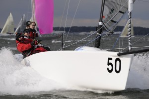 Neil Sullivan's MFatic Racing Downwind at the 2008 NA's