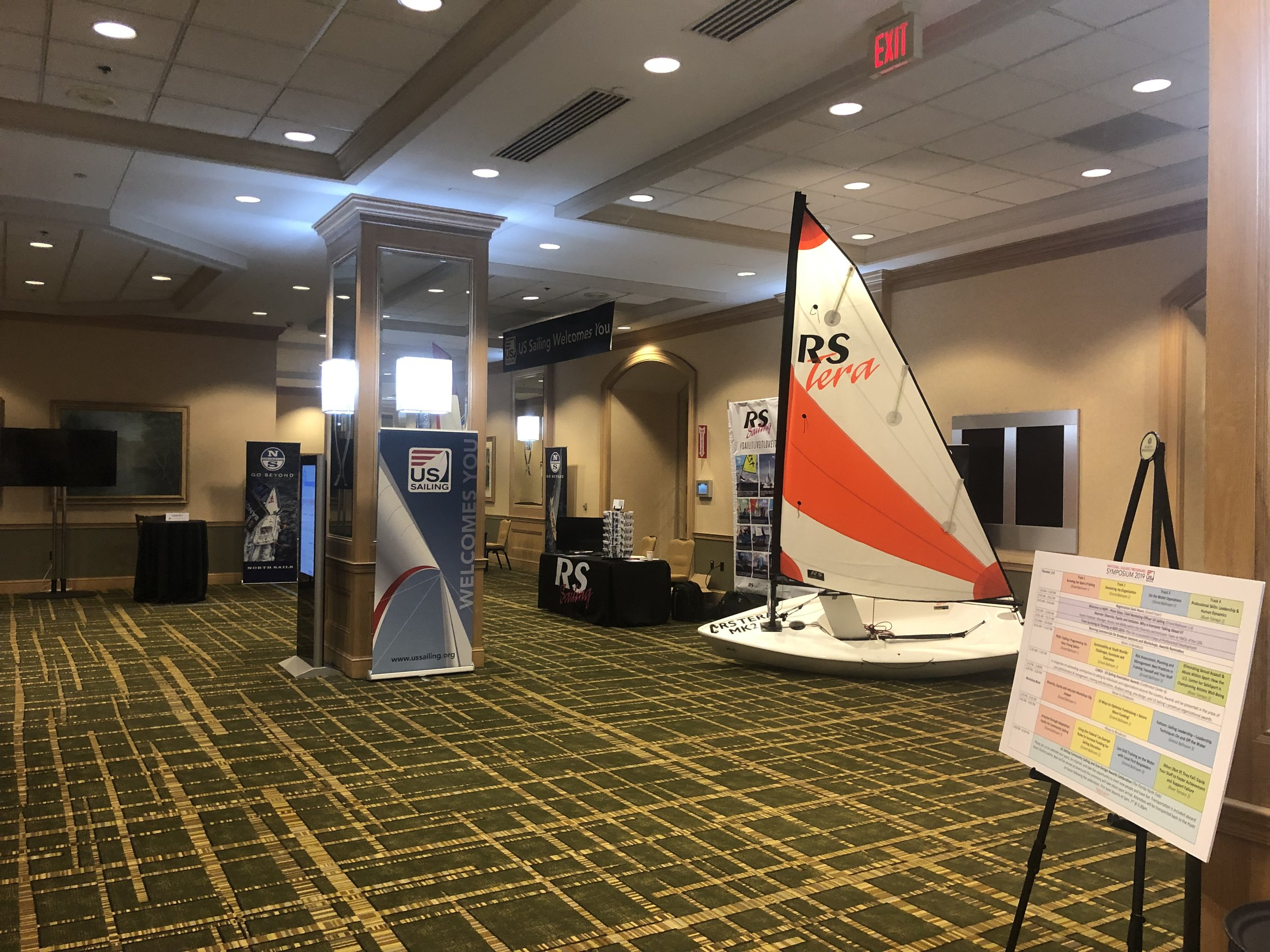 RS Sailing Booth.