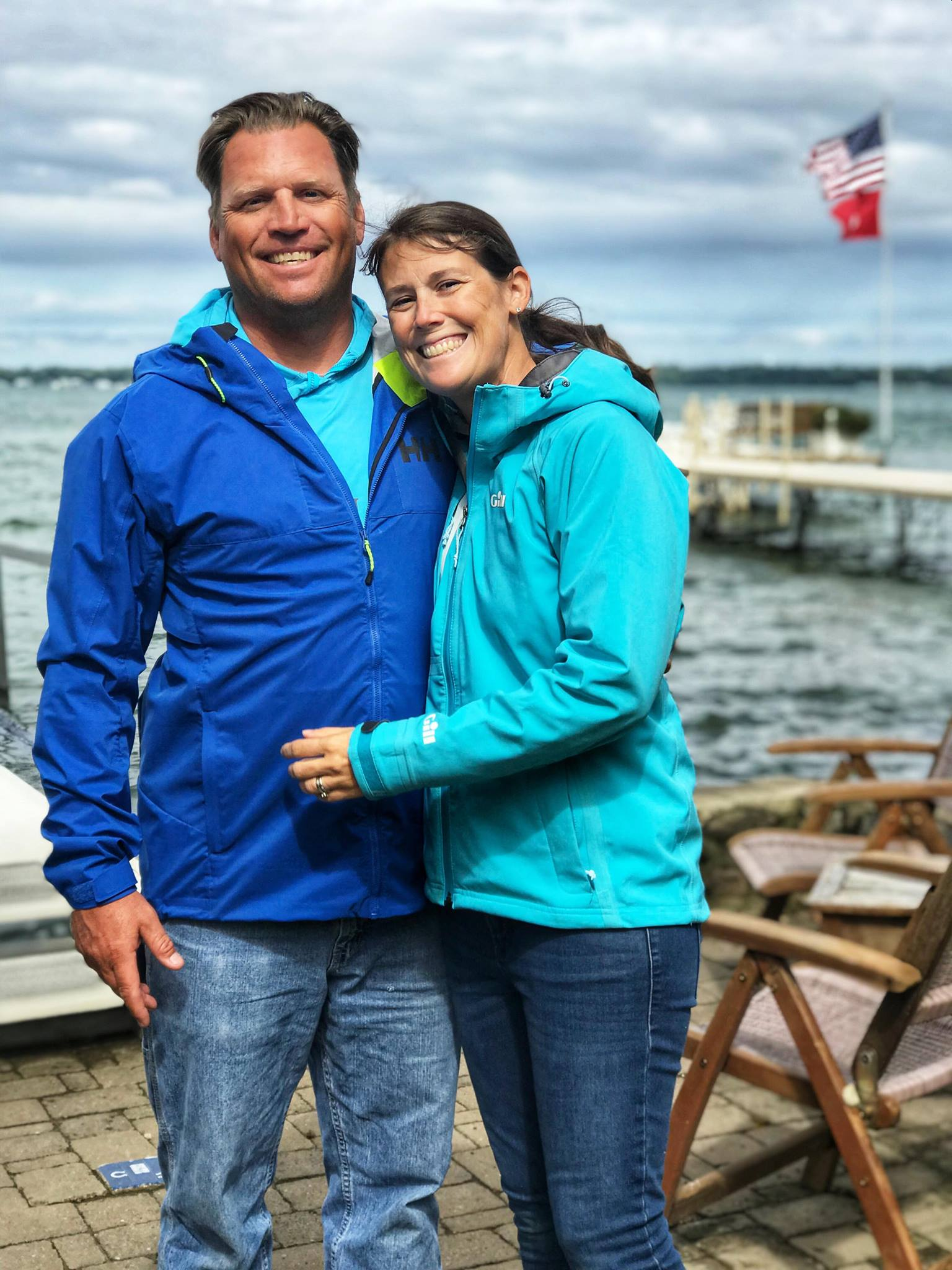 Sail22, LLC Founders & Owners, Becky and Ed Furry