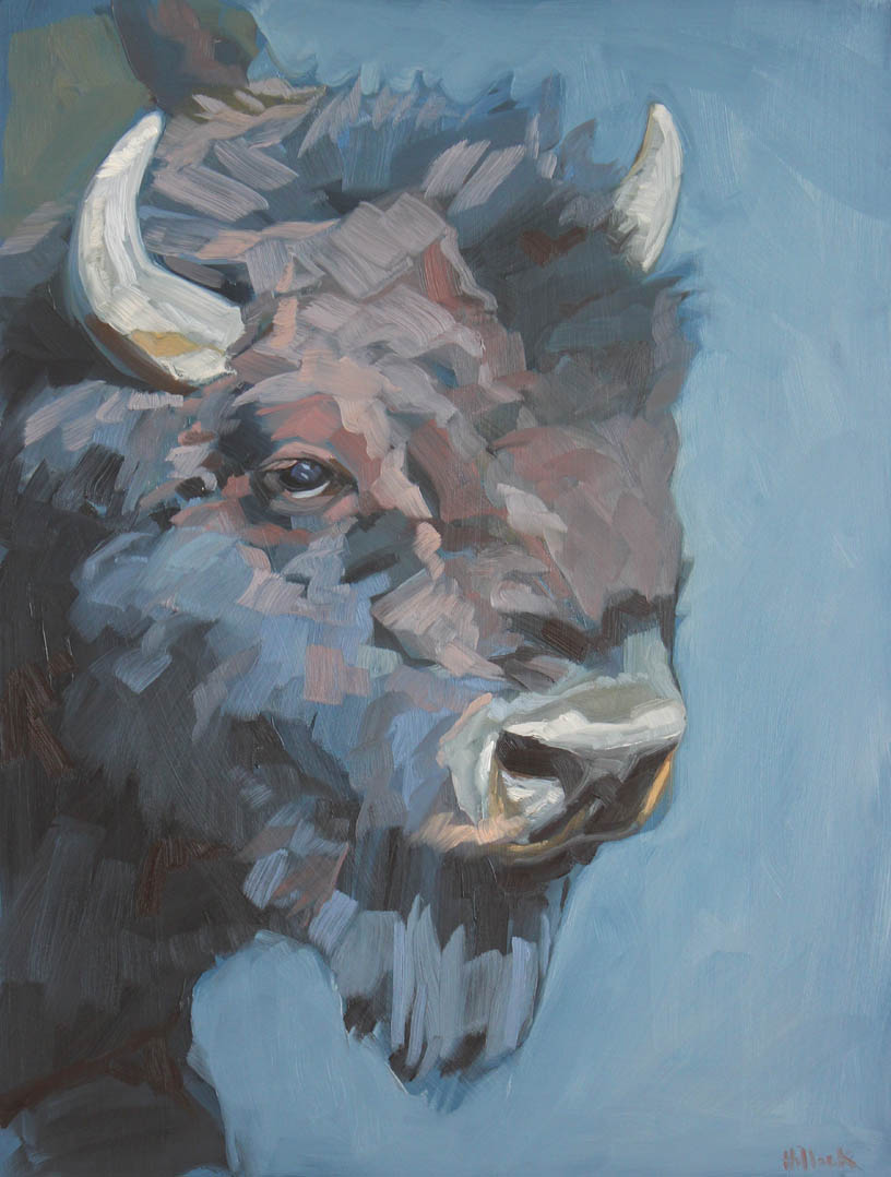 Clarence, oil on panel, 24x16 inches
