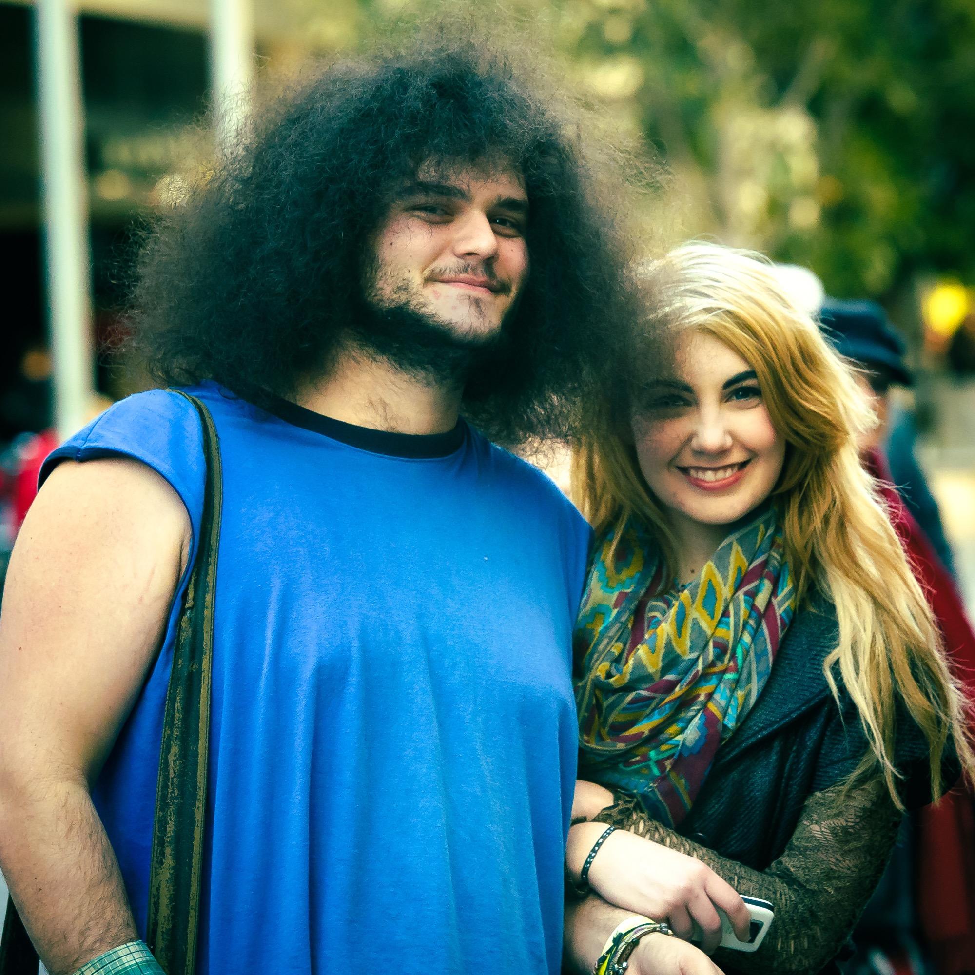 Random, awesome couple