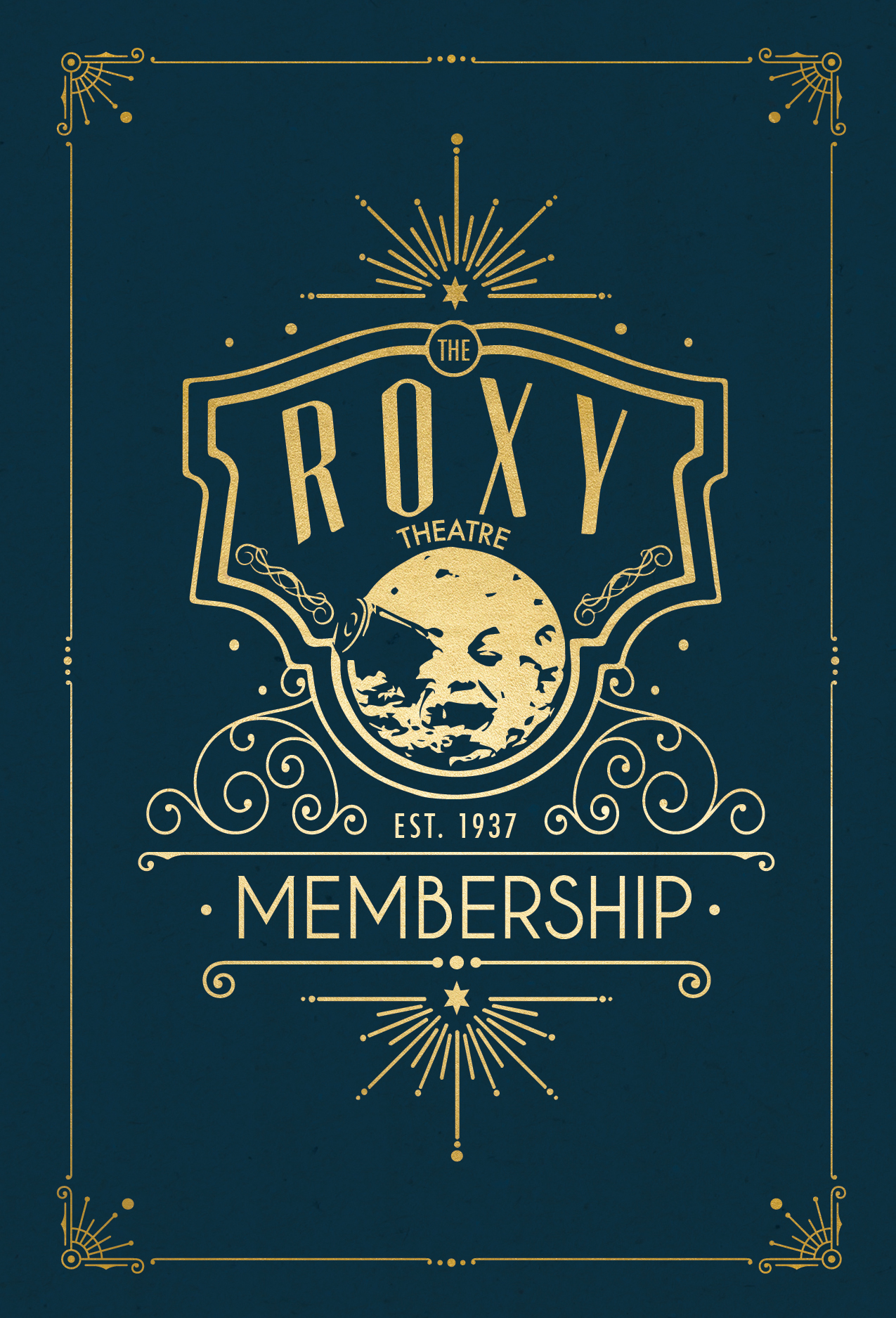 Roxy Theatre Membership Branding