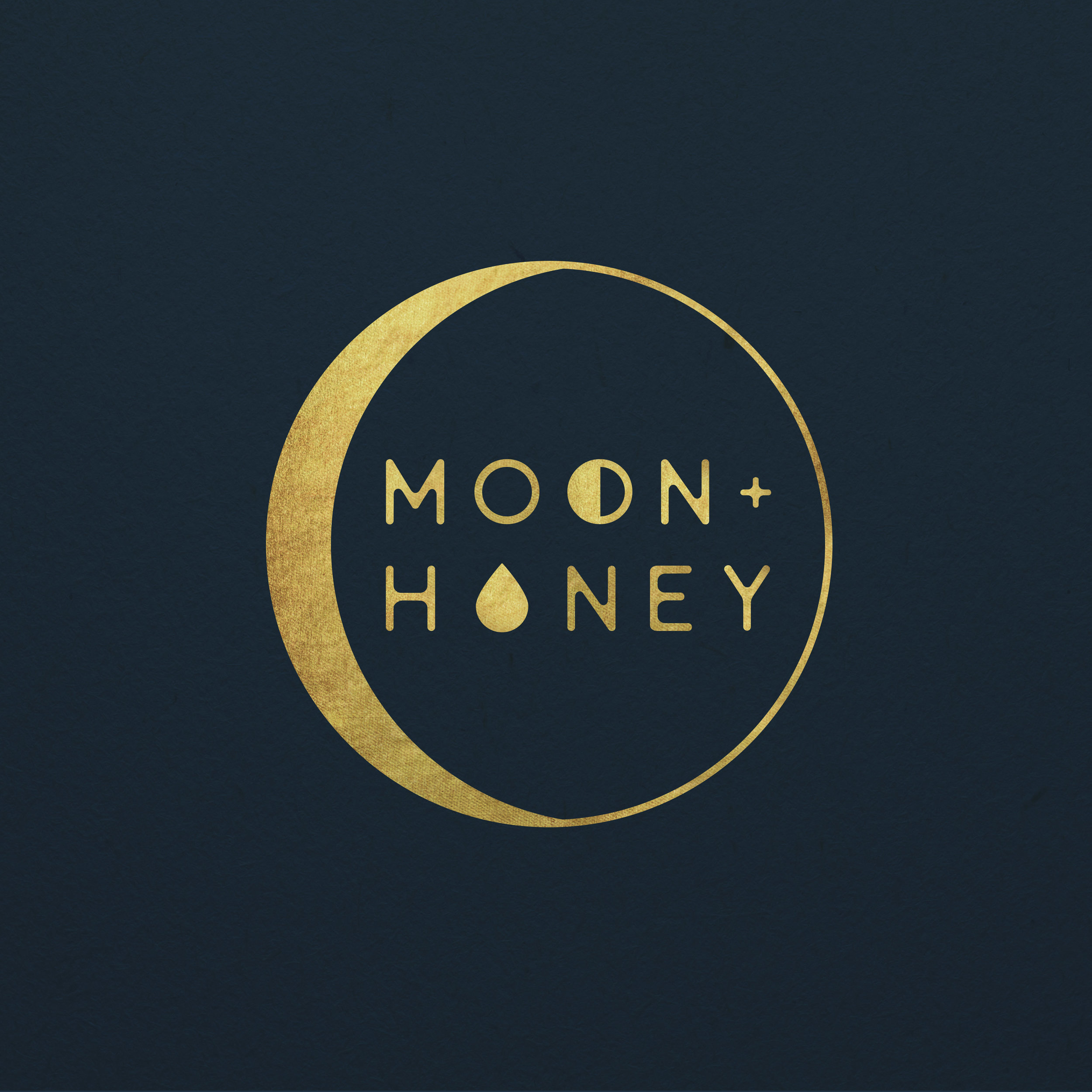 Moon + Honey Branding
