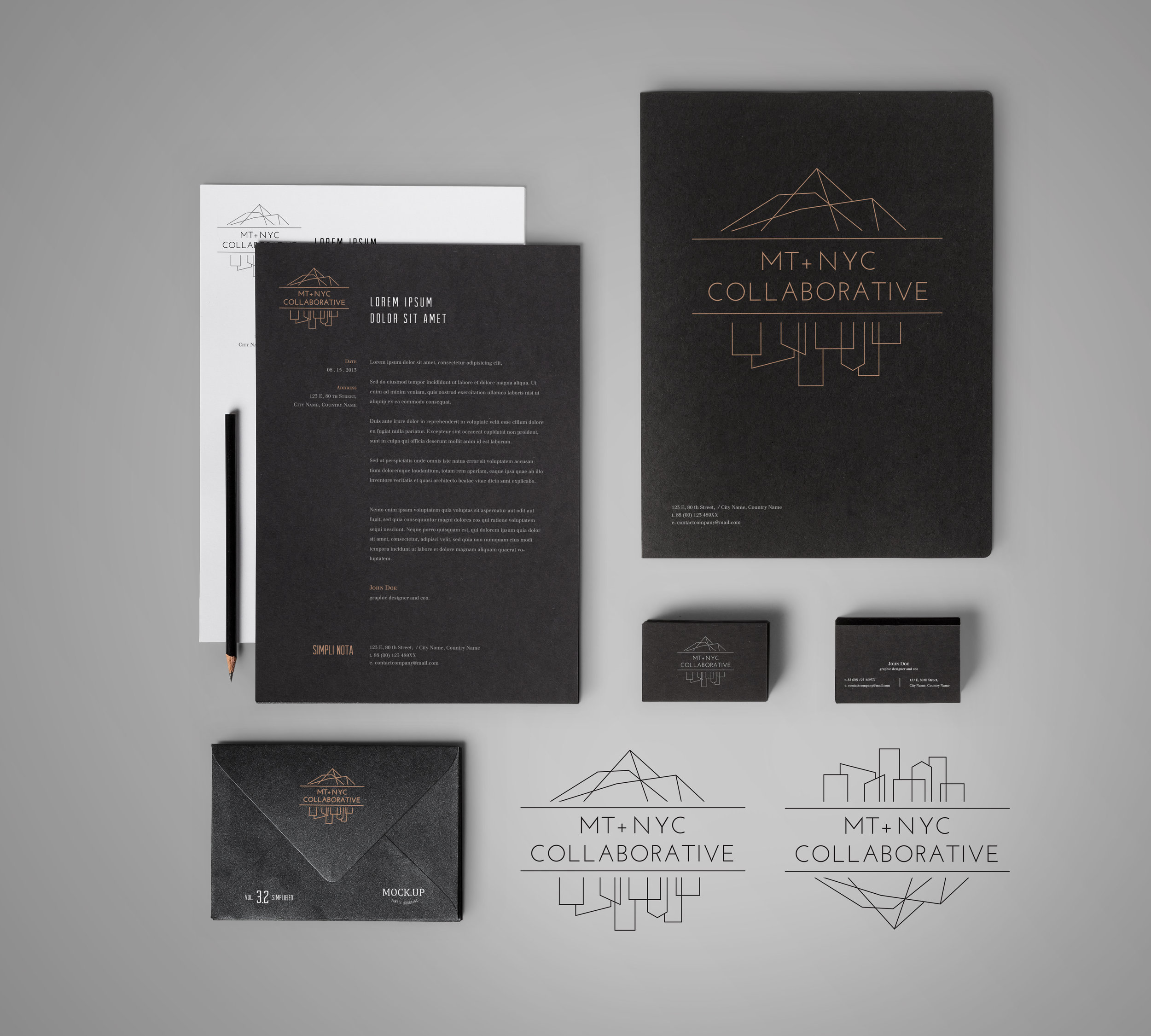 MT + NYC Collaborative Branding + Identity Suite