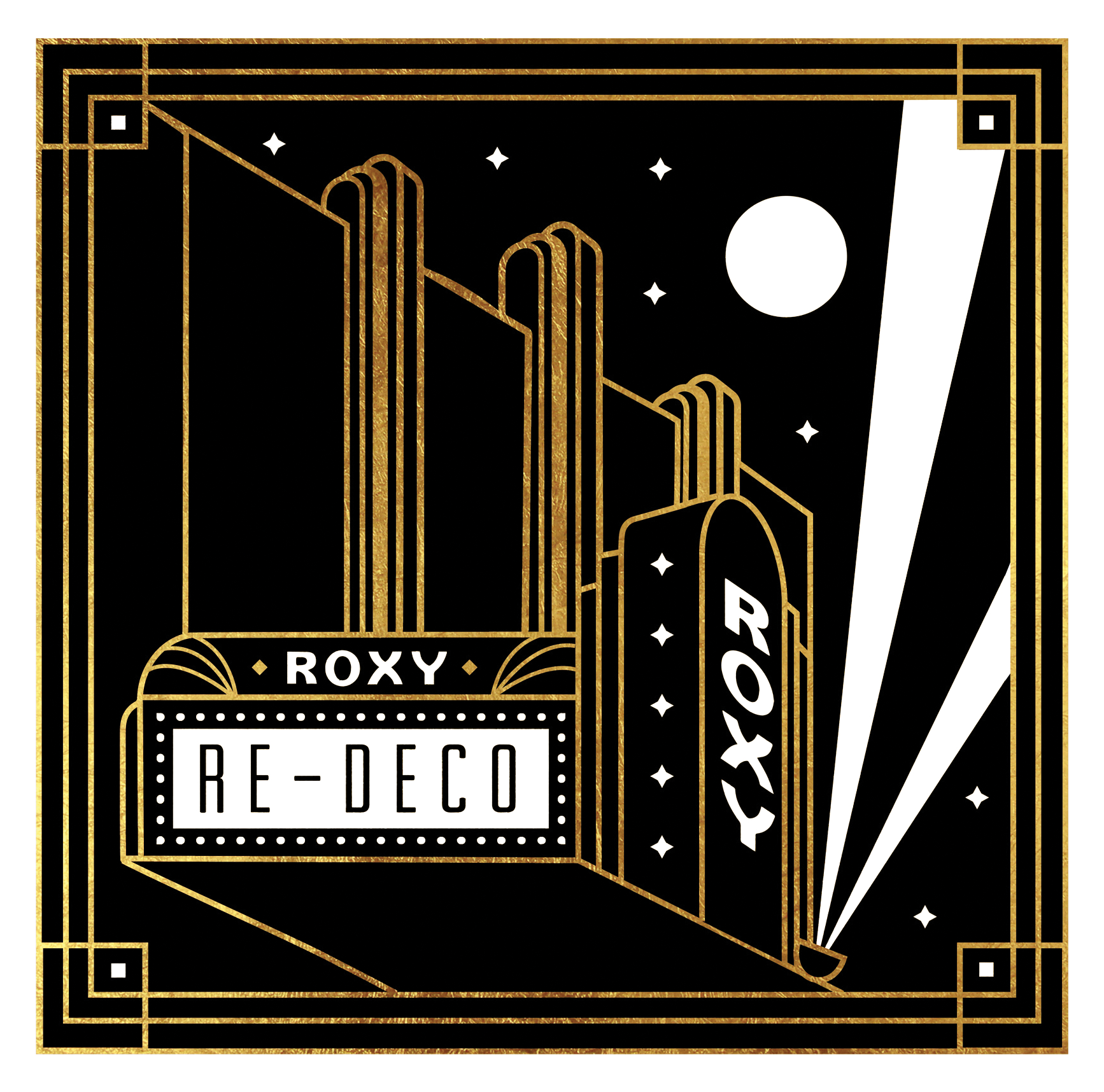 Roxy Re-Deco Branding