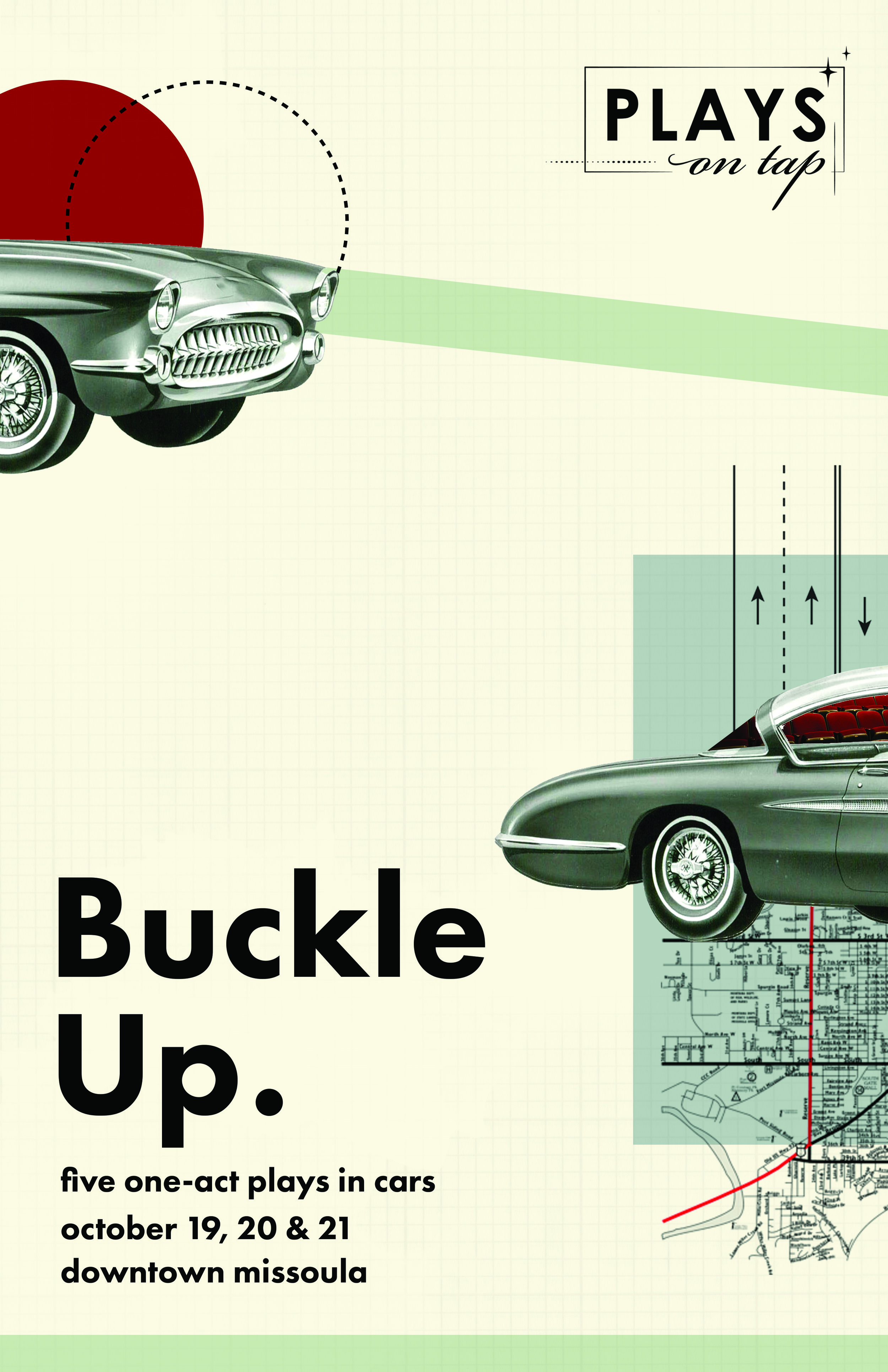 Buckle Up Show Poster