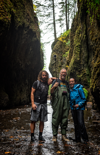 L-R Myself, Gary Randall and Hillary Younger