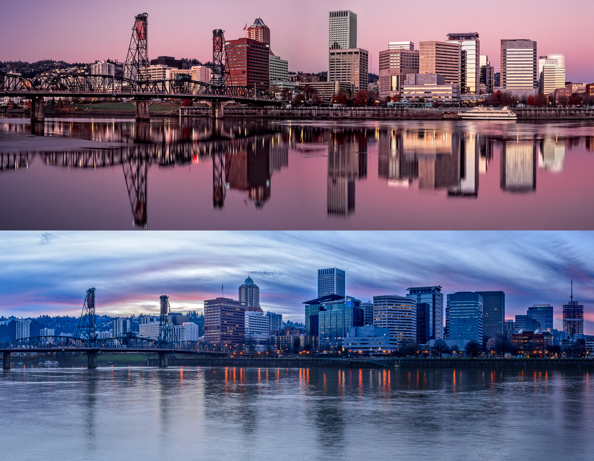 Portland 2006 and 2015 (click to enlarge)