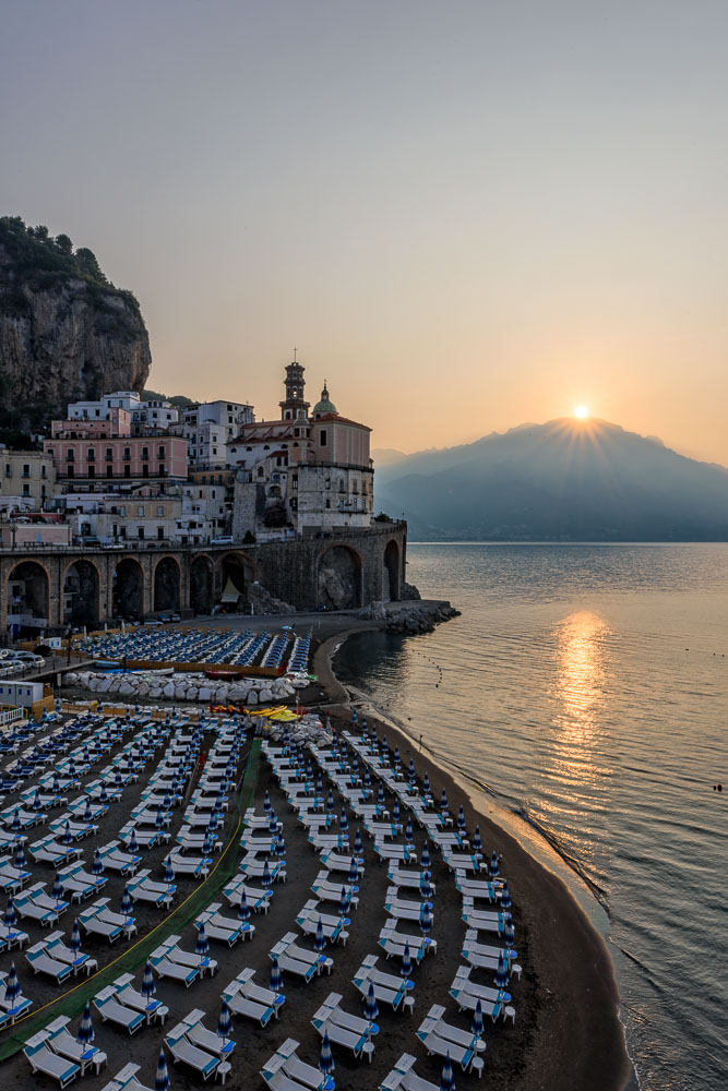 I used Lightroom 6 to blend 3 exposures of this Image of Italy's Amalfi Coast.
