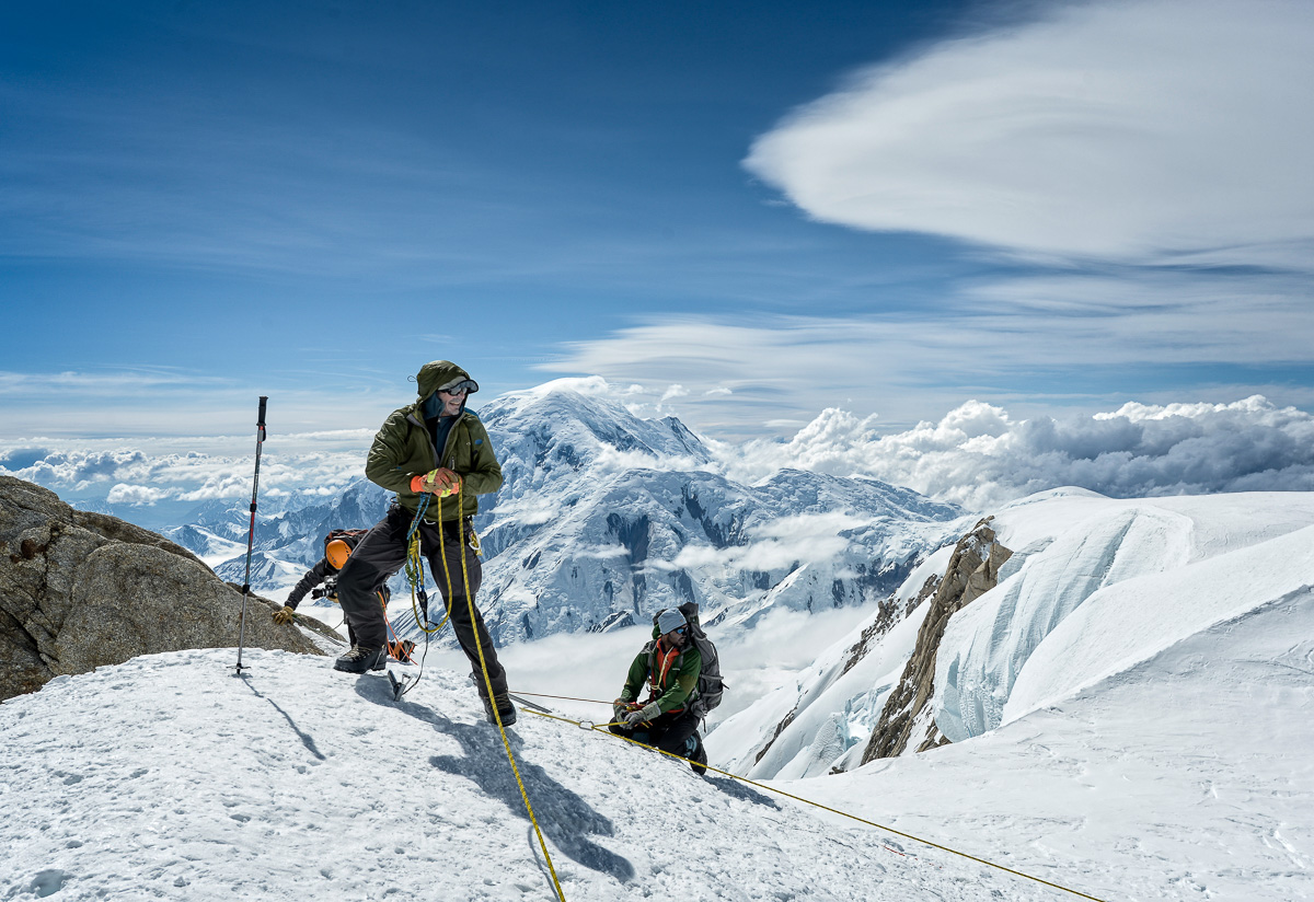 Setting protection to film An American Ascent