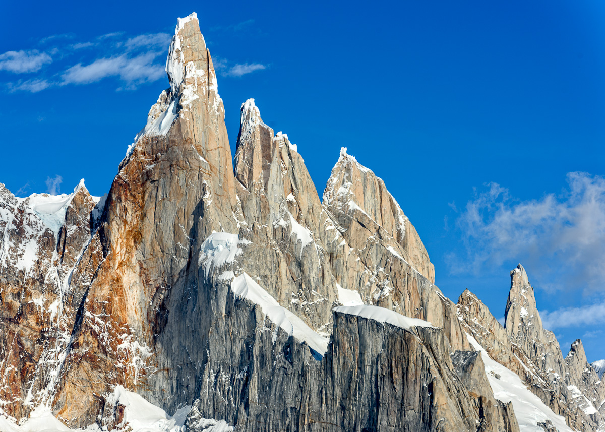 The legendary Cerro Torre in argentinian Patagonia