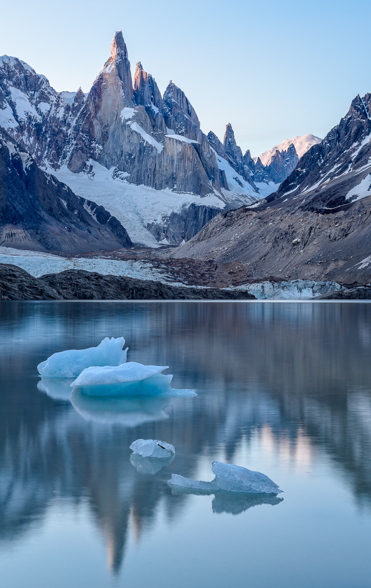 Icebergs and Reflections