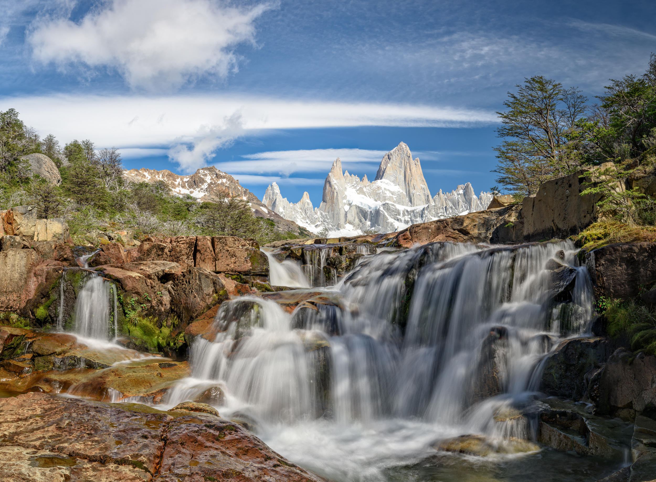 Fitz Roy Falls Patagonia