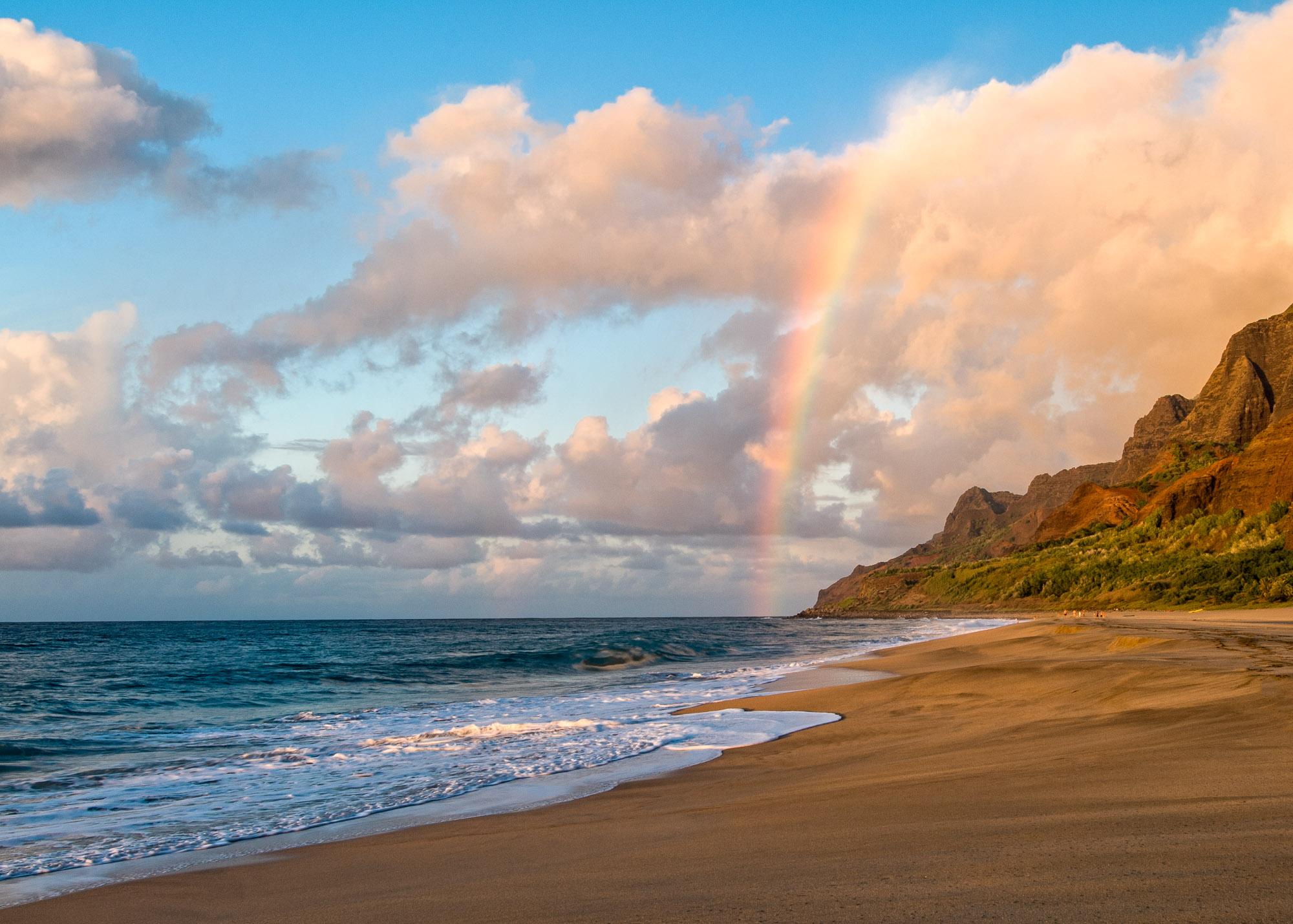 Kalalau Beach, Kauai (Nikon D200)