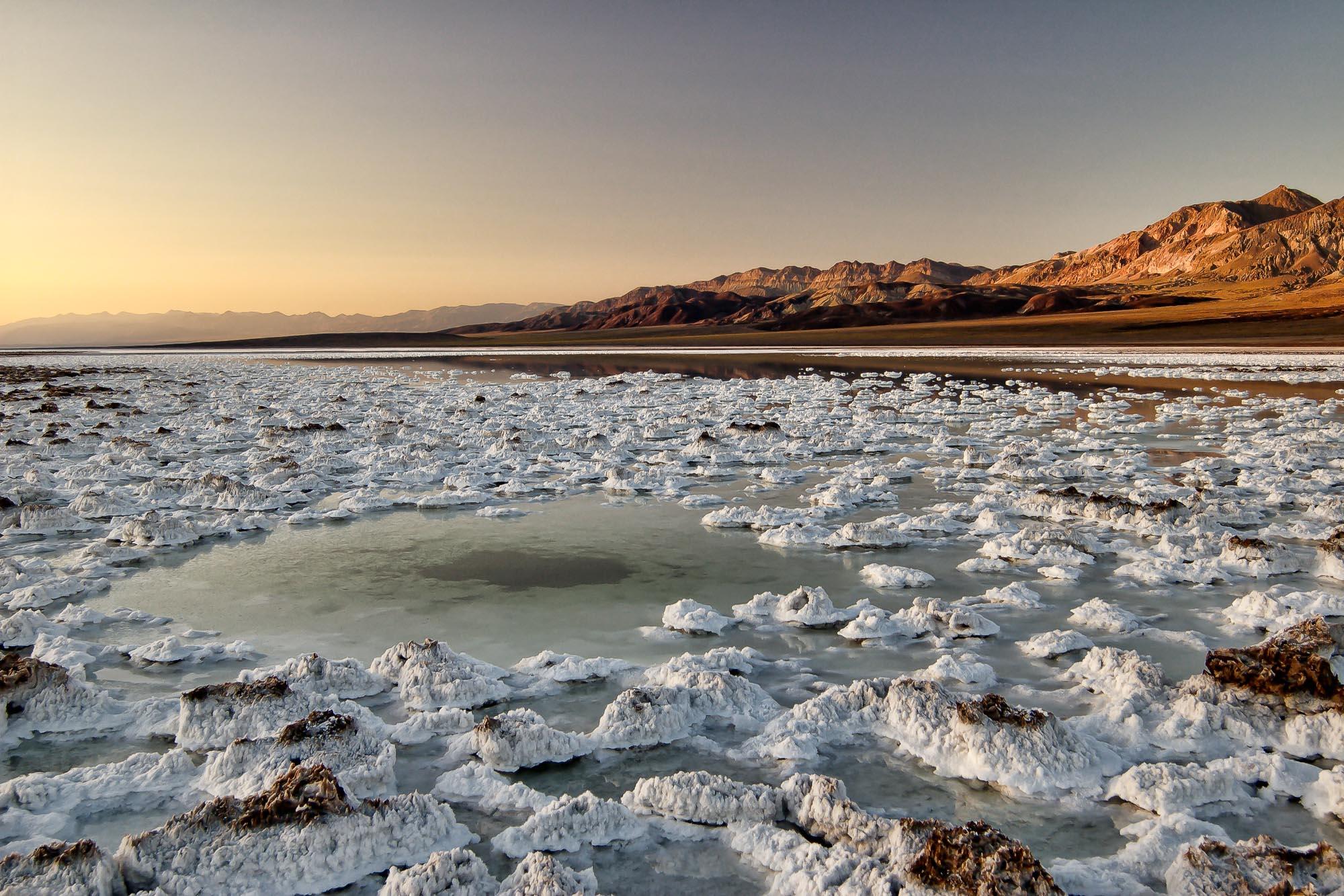 Salt in the Devil's Golf Course: Death Valley National Park 2005