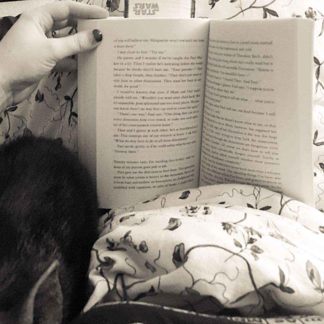 snuggling and reading with kevin bacon