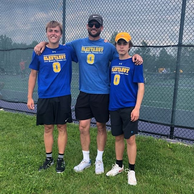It's #States for @oh.khayat and Sam Routzahn! Congratulations to these guys for earning the opportunity to represent the Braves in Mason next week by winning both of their tough matches today at districts. So proud #GoBraves