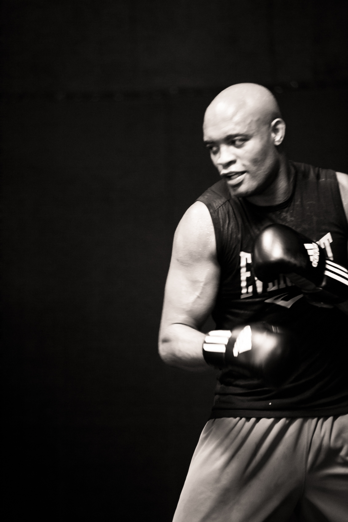 Anderson Silva for Black House Gym