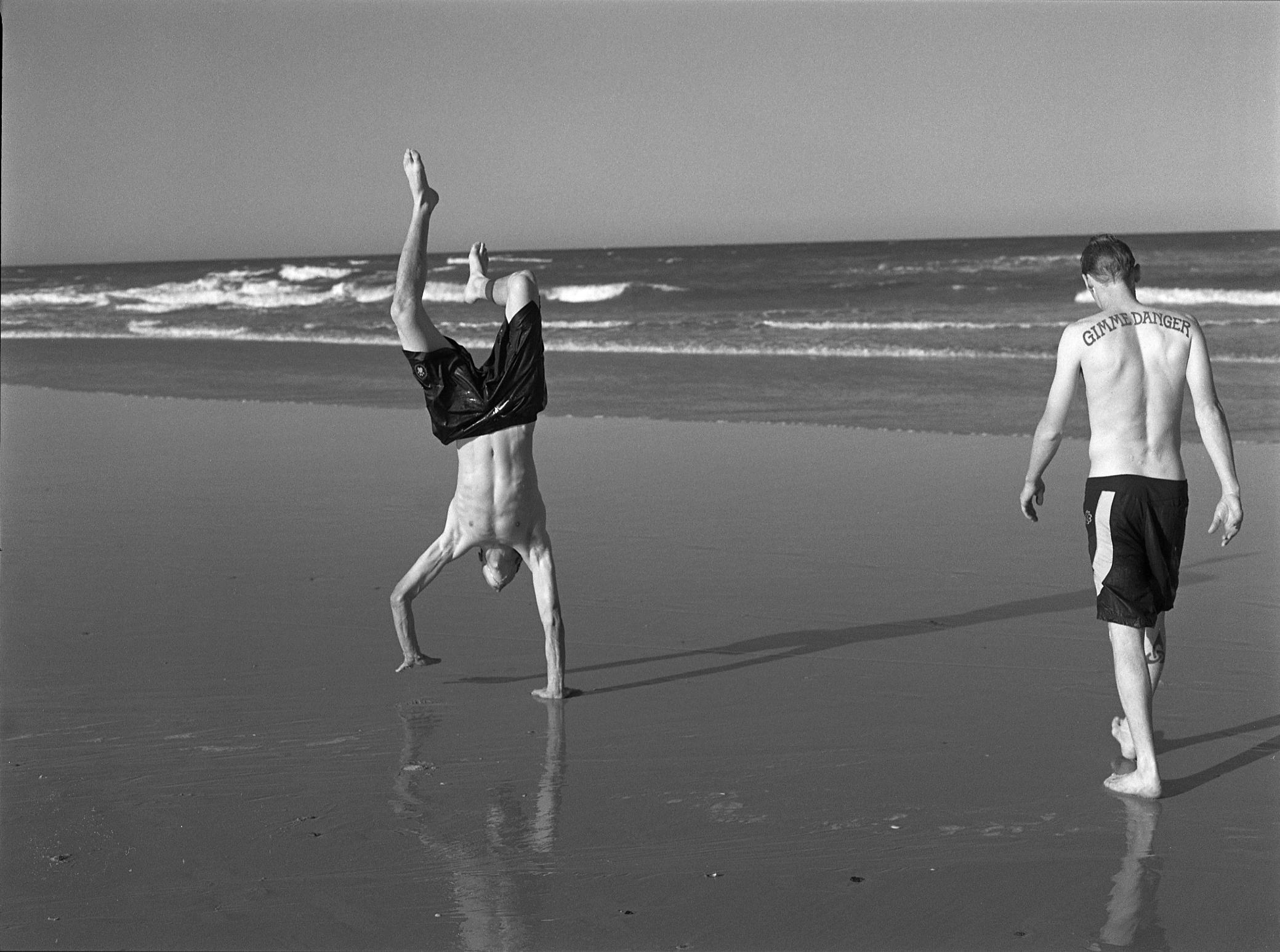 Scott and Alan, Australia, 1996